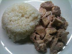 炊飯器の保温で簡単!カオマンガイ・海南鶏飯(チキンライス)