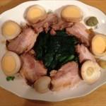 圧力鍋で簡単!味しみまくりの煮豚と味付け玉子