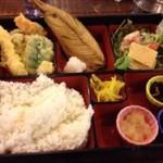 米子市ふるさと納税特典お食事券で山陰海鮮炉端かばのランチを食べる