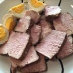 保温調理で簡単 放ったらかしの煮豚と味付け玉子づくり