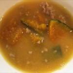 マキタスポーツ流 残ったカボチャの煮物でほうとう風味噌汁