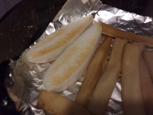 笹かまぼこを燻製