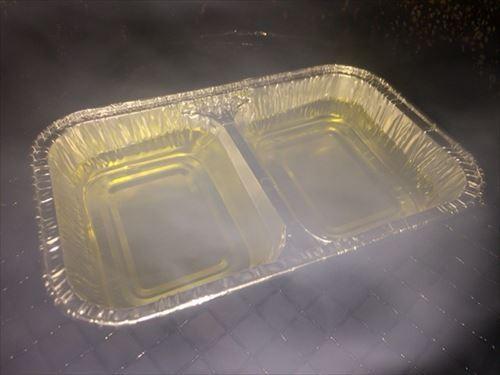オリーブオイル 燻製中