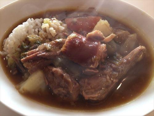 牛バラブロック肉のポトフカレー