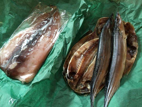 静岡県下田市 魚とイカの干物セット
