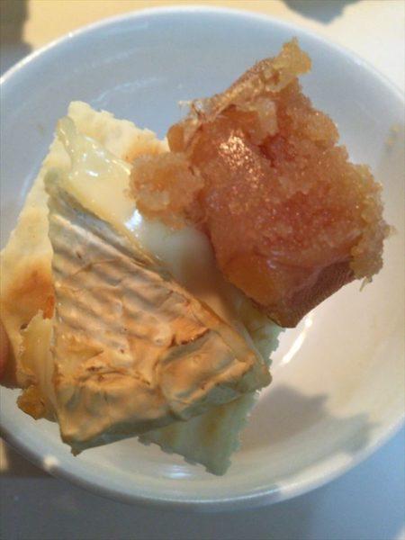 燻製たらこと燻製カマンベールチーズ