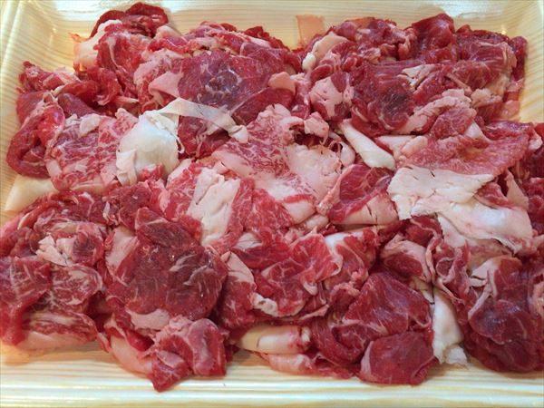 高知県香美市 土佐和牛(黒毛) 切り落としすき焼き用 500g