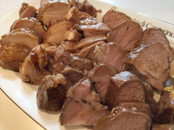 煮豚と煮鶏
