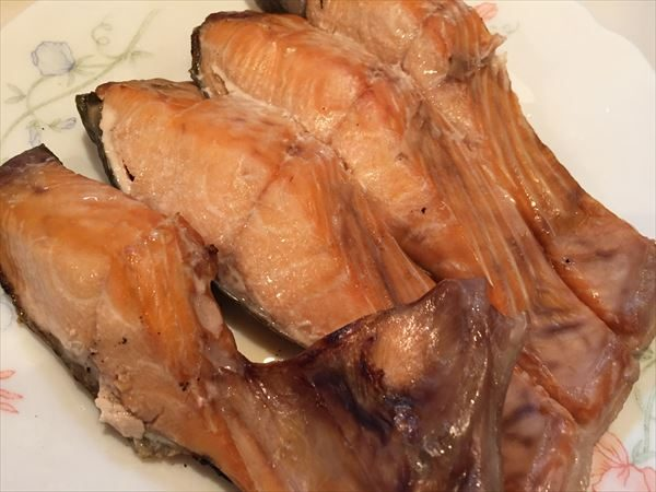 秋鮭甘塩半身切身