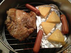 2時間で出来る!簡単スモークチキン・スモークチーズの作り方