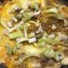 牛すじ肉のしぐれ煮とねぎ焼き風玉子焼き