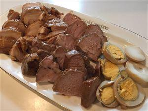 シャトルシェフで作る 簡単煮豚と煮鶏