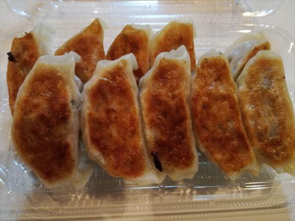 お惣菜の焼き餃子